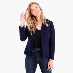 NWT J. Crew Navy Going Out Blazer